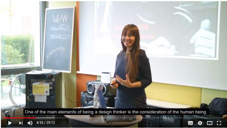 Mela Chu - Vortrag bei Yello Strom